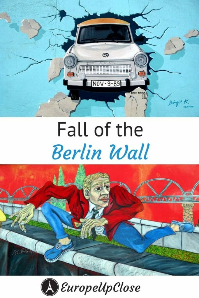 Childhood memories and inconvenient truths about the Fall of the Berlin Wall shared by a German girl who grew up 45 miles away from the border between East and West Germany. #germany #Berlin #history #BerlinWall #historylesson #berlintagundnacht #ddr #ddrmuseum #germanytravel #historical #historyfacts