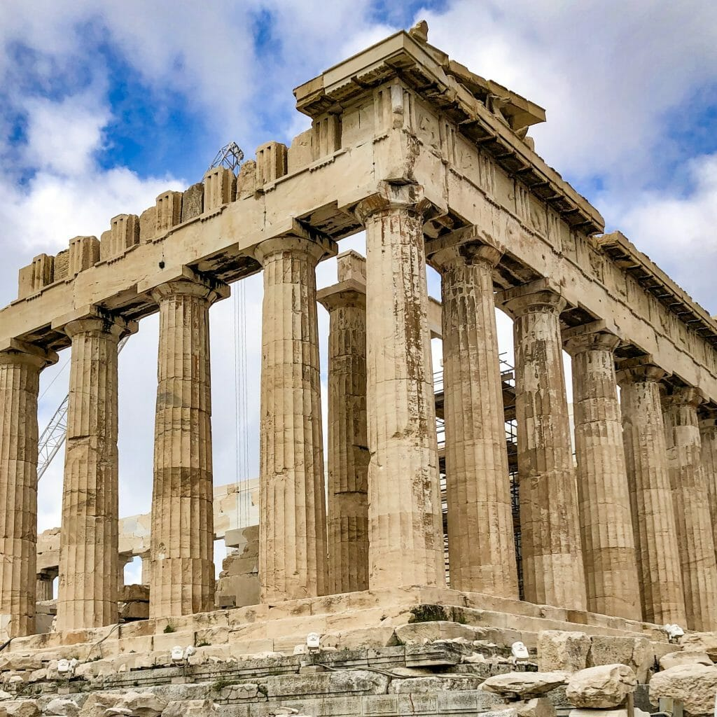 Acropolis Ruin in Athens, Greece