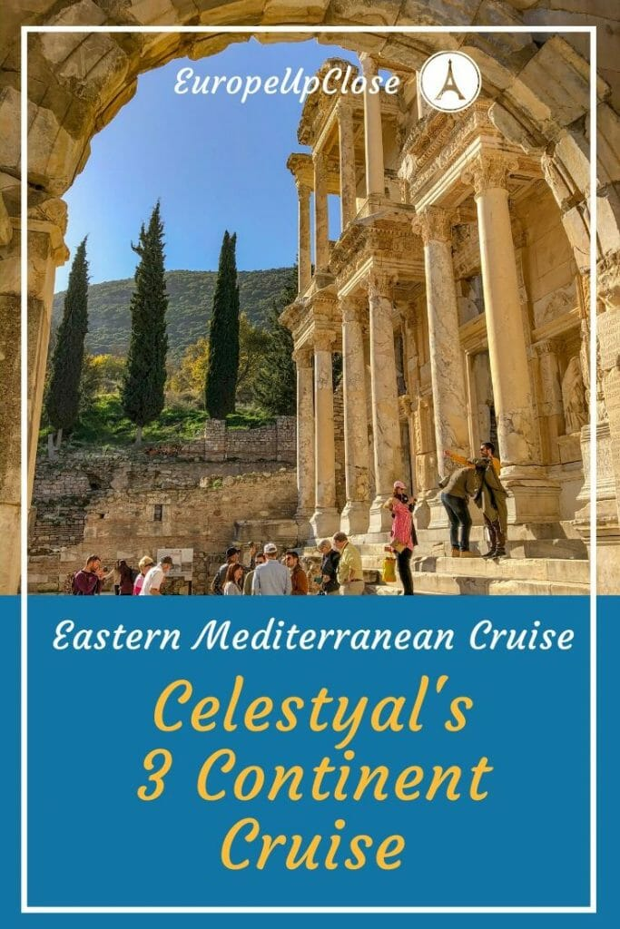 Looking for a top Eastern Mediterranean Cruise? Then 3 Continent Cruise from Celestyal Cruises might be perfect. This Luxury cruise takes you from Greece to Egypt, Israel to Cyprus, Rhodes to Turkey and back to Greece. One highlight follows the next on this Mediterranean Cruise. #Cruise #cruises #Mediterranean #Mediterraneancruise #luxurycruise #cruising #luxurytravel #cruisetravel #cruisetips #mediterranean #SouthernEurope #Europecruise #Celestyalcruises #3ContinentCruise