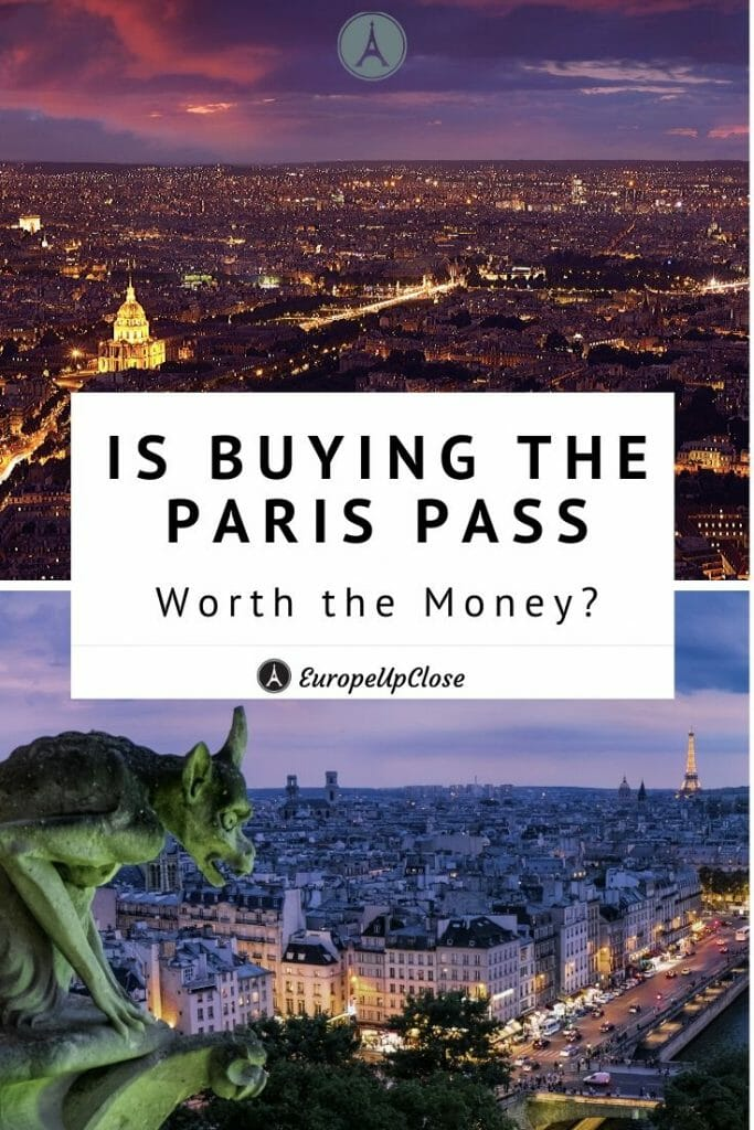 Is The Paris Pass Worth It? Detailed Review of the Paris City Pass and more Paris Travel Tips! Read this before deciding whether or not the buy the Paris City Pass. This in-depth review includes what you get access to and tours the pass doesn't have. #europetrip #europetravel #europeitinerary #traveltips #travel #francetrip #francetravel #luxurylifestyle #luxurytravel #paris #parisfrance #france #cityofparis #parispass #france