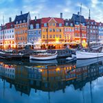 Panorama of colorful houses in Nyhavn Copenhagen - Things to do in Copenhagen Denmark