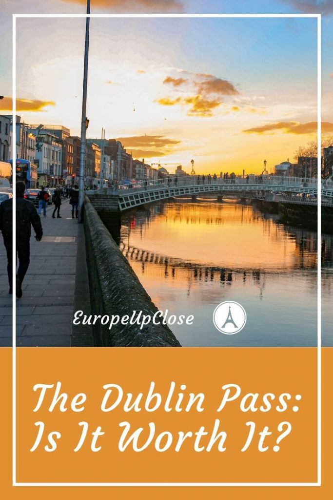 Read this if you're visiting Dublin, Ireland soon. Is the Dublin Pass worth it and what does it include? It may be a good bang for your buck. #europetrip #europetravel #europeitinerary #traveltips #travel #dublintrip #dublintravel #luxurylifestyle #luxurytravel #dublin #dublinireland #ireland #westerneurope #dublinpass