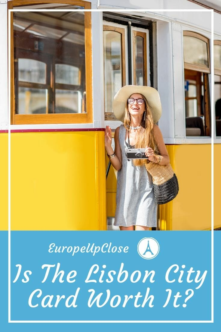 Is the Lisbon Card worth it? MUST READ before you visit Lisbon Portugal. Find out everything you need to know about the Lisboa Card, Included Lisbon attractions and Lisbon things to do, including how to travel to Lisbon on a budget! #lisbon #lisboa #lisbontrip #lisbontravel #europetrip #europetravel #europeitinerary #traveltips #travel #portugaltrip #portugaltravel #budgettravel #lisbon #lisbonportugal #portugal #southerneurope #lisboacard