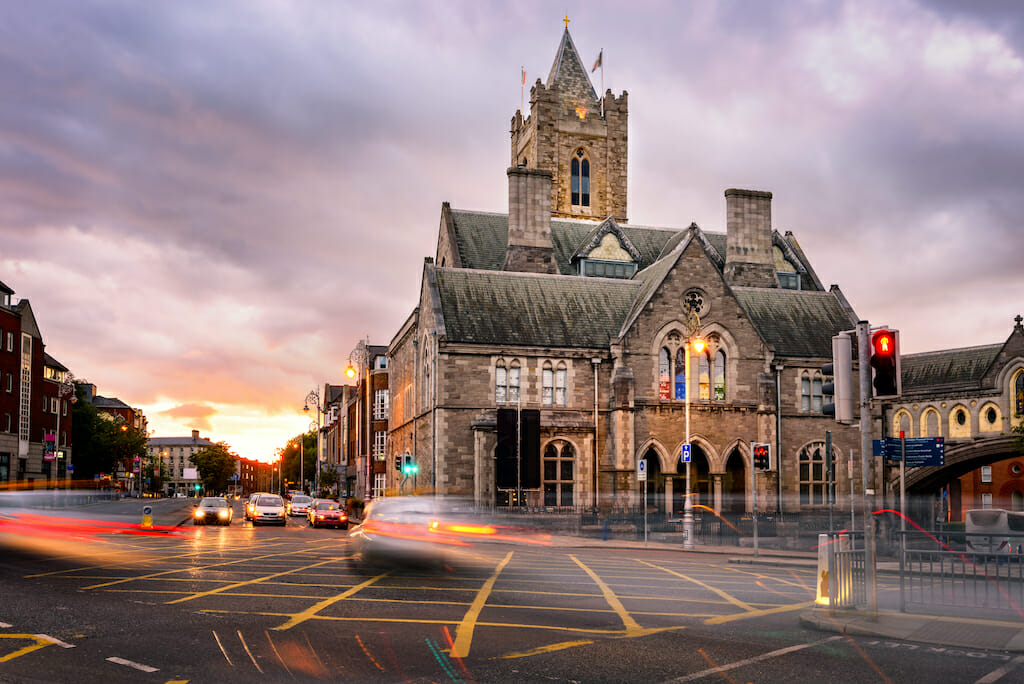 The Cathedral of the Most Holy Trinity, Dublin, Ireland.