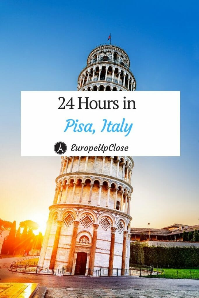 Read immediately to explore what you can do with one day in Pisa, Italy; from culture to art to the infamous Tower. Pisa Italy - This is the Best 1 Day Pisa Itinerary for your next Italy trip, especially if you are exploring Tuscany #europetrip #europetravel #europeitinerary #traveltips #travel #italytrip #italytravel #luxurylifestyle #luxurytravel #pisa #pisaitaly #italy #southerneurope #24hoursinpisa #tuscany #tuscantown #italian #europeupclose