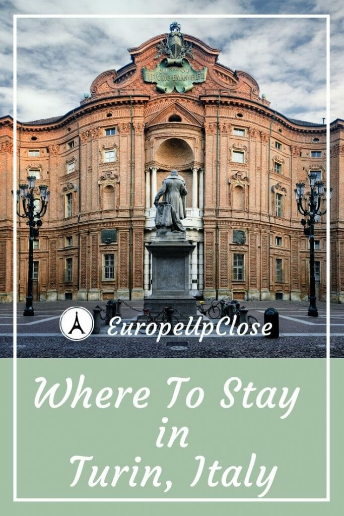 Where To Stay in Turin Italy - Best Hotels in Turin for Every Budget - Turin Accommodation #luxuryhotels #turin #Italy #italian #italytrip #piedmont #NorthernItaly Italy off the beaten path Italy #italytraveltips #Italyhotels #luxurytravel #luxuryhotels #luxurylifestyle