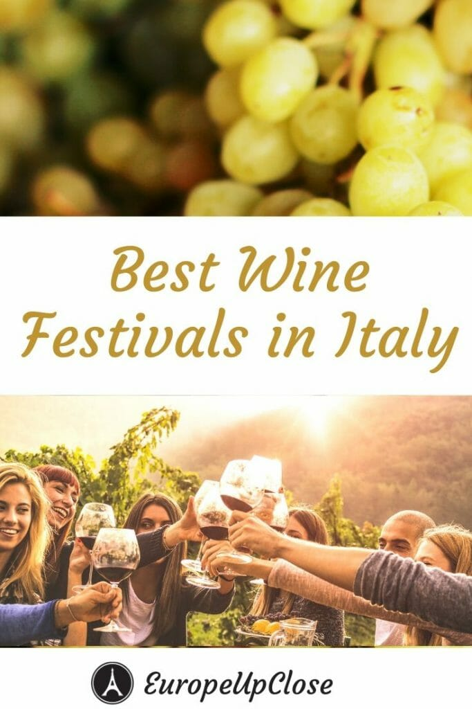 Discover the best Italian wine at one of the many Italian Wine Festivals and wine events in Italy. Here are our top tips to plan your visit to Vinitaly and other top Italian wine festivals on your next trip to Italy. This is a must for all wine lovers. #italy #italianwine #wine #vino #winetasting #winelover #italian #italytrip #vinitaly #italytrip #italytraveltips #europetravel #europeupclose #Italyitinerary #tuscany #chianti