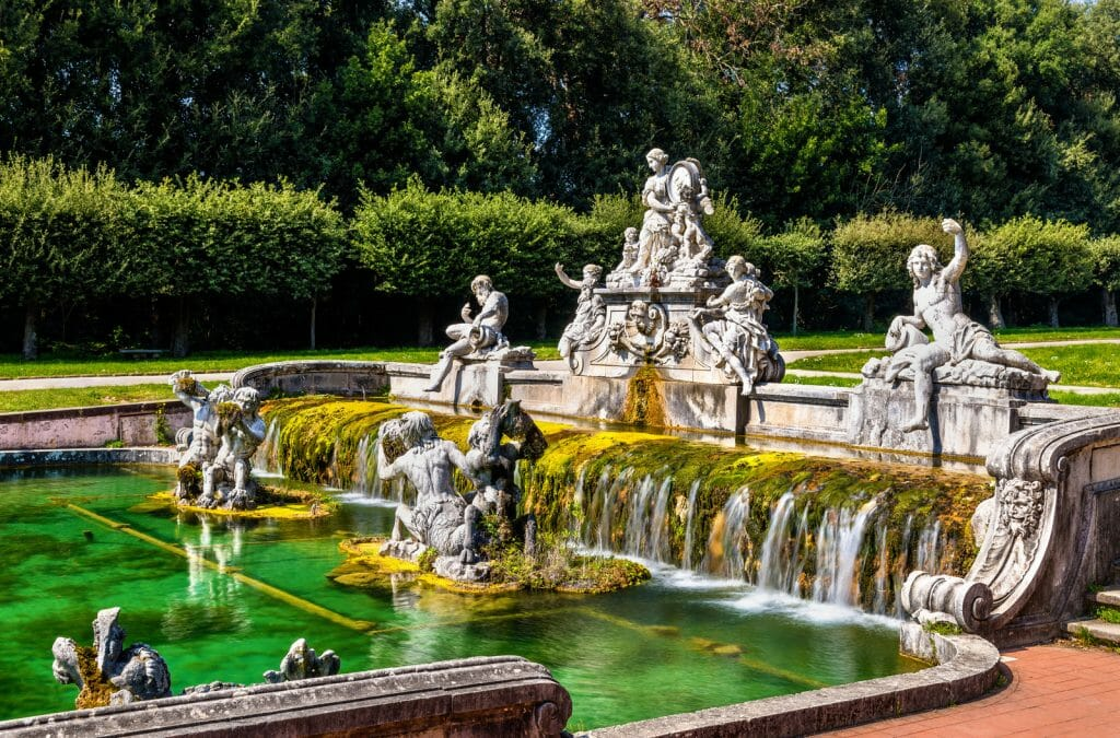 Fontana di Cerere at the Royal Palace of Caserta, Italy