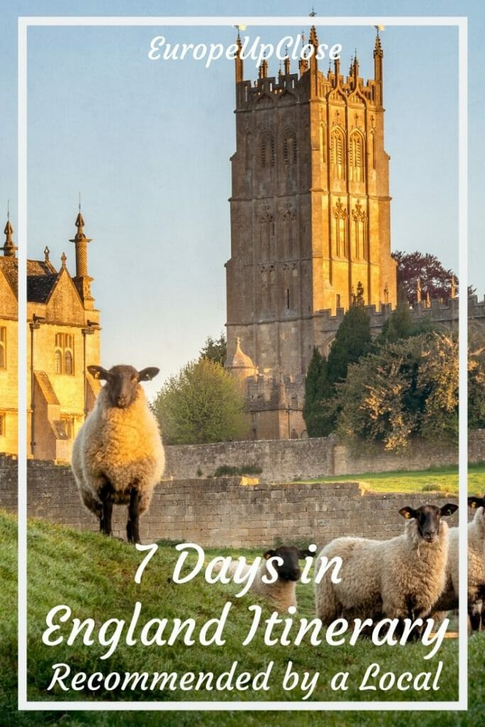 7 Days in England Itinerary by a Local1 Week England Itinerary - Are you planning a quick trip to England? Here is our 7 Day England Itinerary, written by a local, that will give you a taste of England. 7 Day England Itinerary - Recommended by a Local - England Things To Do - England Travel Tips - 1 Week England - England Countryside - England aesthetic countryside #England #Englanditinerary #London #SouthernEngland #Englandtrip England Road Trip - UK Road Trip