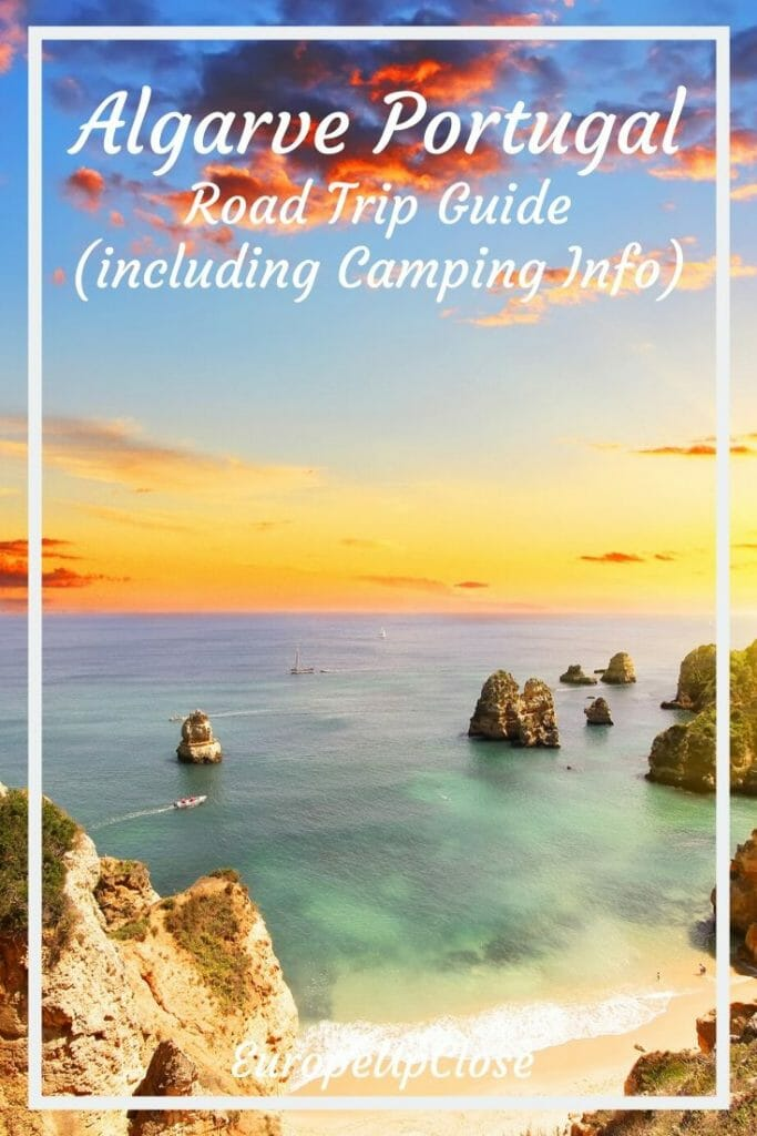 Are you planning a Portugal Road Trip? Don't miss the stunning Algarve beaches. Here is all the info you need to plan your Algarve Portugal trip along the Algarve Coast. Explore the stunning Algarve beaches, Algarve coast & cute towns. Algarve Portugal - Algarve Beaches - Algarve Portugal things to do - Algarve Portugal where to stay - Algarve tips - Portugal travel tips - Portugal beaches - Portugal Itinerary - Portugal road trip itinerary