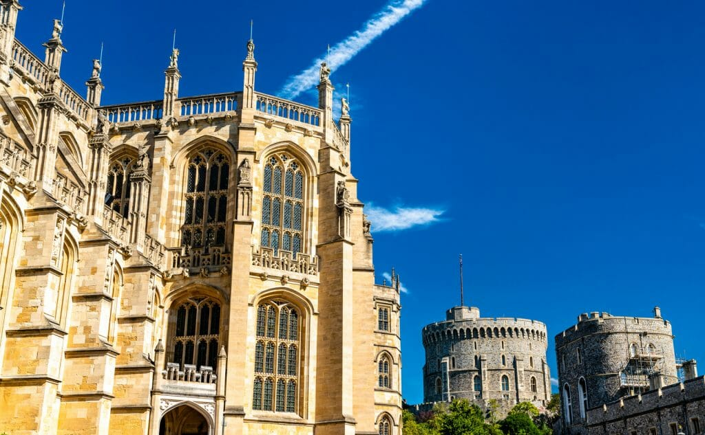 St. George Chapel at Windsor Castle in England, UK