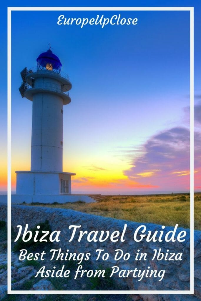 Ibiza is the party island of Europe, but there are so many other great things to do in Ibiza Spain. Read this great Ibiza guide to help your plan your Ibiza holidays - Plan Your Perfect Ibiza Trip - Fun Things To do in Ibiza Spain- Ibiza Things to do in - Ibiza Spain Itinerary - Things to do in Ibiza Spain - Ibiza Travel Guide - Ibiza Travel Tips - Ibiza spain beaches - Ibiza beaches - Ibiza party - ibiza nightlife #balearicislands #ibizaguide #spaintravel #ibizatrip #ibizaparty #thingstodo #traveltips #spain #ibiza