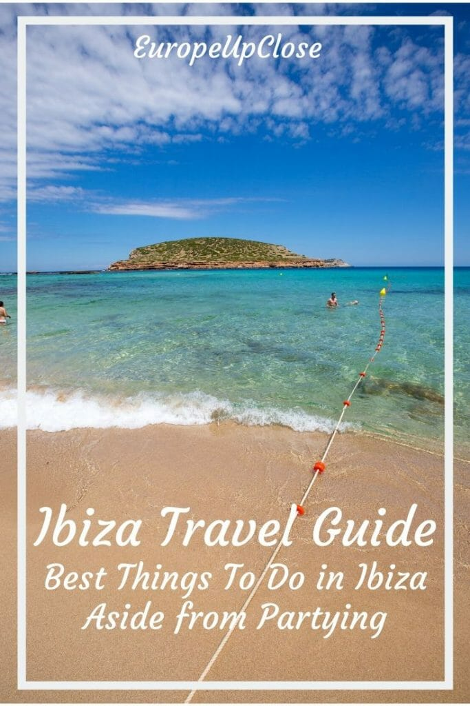 Ibiza is the party island of Europe, but there are so many other great things to do in Ibiza Spain. Read this great Ibiza guide to help your plan your Ibiza holidays - Plan Your Perfect Ibiza Trip - Ibiza Things to do in - Ibiza Spain Itinerary - Things to do in Ibiza Spain - Ibiza Travel Guide - Ibiza Travel Tips - Ibiza spain beaches - Ibiza beaches - Ibiza party - ibiza nightlife #balearicislands #ibizaguide #spaintravel #ibizatrip #ibizaparty #thingstodo #traveltips #spain #ibiza Ibiza Travel Guide Things To do in Ibiza Spain