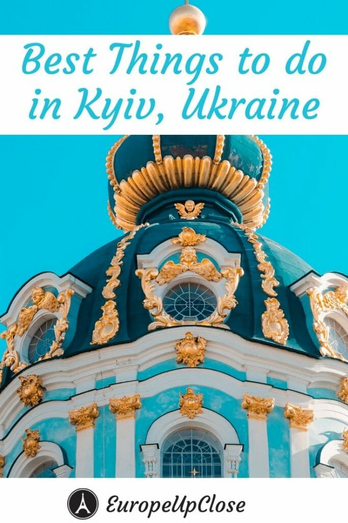 If you are planning a trip to Kyiv, you need to read these recommendations by a local on the best things to do in Kyiv, Ukraine - Ukraine Itinerary - Kiev Things To do - Kyiv Things To Do - Things to do in Kiev Ukraine - Eastern Europe Itinerary - Ukraine Travel Tips - Kyiv Itinerary - Kiev Itinerary - Europe Travel Tips - Eastern Europe Travel Tips #Kyiv #Ukraine #UkraineTravel #UkraineTrip #EuropeUpClose #EasternEurope #easterneuropetrip #easterneuropeitinerary #easterneuropetravel #europetravel