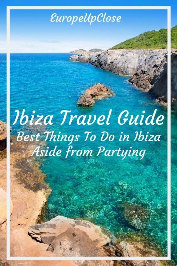 What To do in Ibiza Spain? Ibiza is the party island of Europe, but there are so many other great things to do in Ibiza Spain. Read this great Ibiza guide to help your plan your Ibiza holidays - Plan Your Perfect Ibiza Trip - Ibiza Things to do in - Ibiza Spain Itinerary - Things to do in Ibiza Spain - Ibiza Travel Guide - Ibiza Travel Tips - Ibiza spain beaches - Ibiza beaches - Ibiza party - ibiza nightlife #balearicislands #ibizaguide #spaintravel #ibizatrip #ibizaparty #thingstodo #traveltips #spain #ibiza