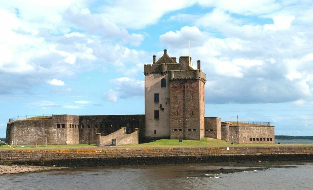 Medieval Broughty Castle-Day Trips From Glasgow