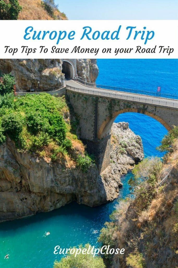 Planning a Europe road trip can be fun. Here are some great tips on how best to save money on your road trip and make the most of your trip. Europe Vacation - Europe Trip - Europe Trip Money - Europe Trip Budget - Budget Travel Europe - Budget Europe Trip - Road Trip in Europe - How to save money on Europe Road Trip - Europe Travel Tips